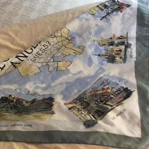 USA vintage guess. Poly scarf great colorful.